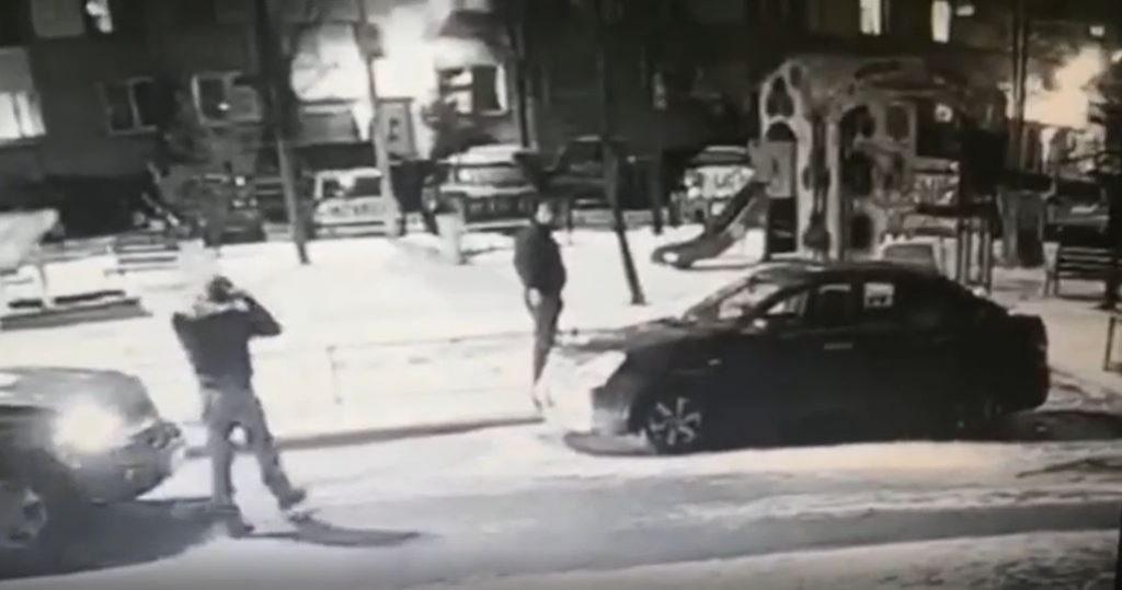Появилось видео с избиением пенсионера из-за парковочного места на Будапештской