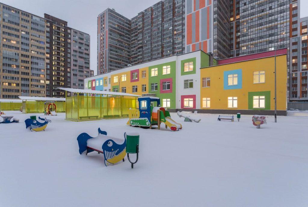 В Петербурге построят 7 новых социальных объектов