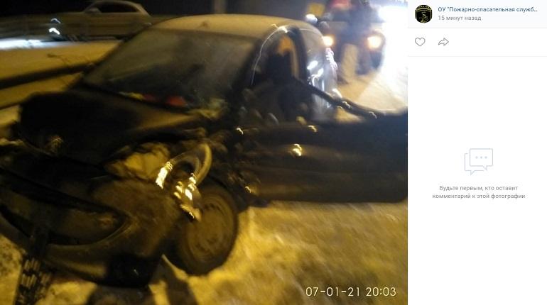 На «Скандинавии» в ДТП пострадали два человека