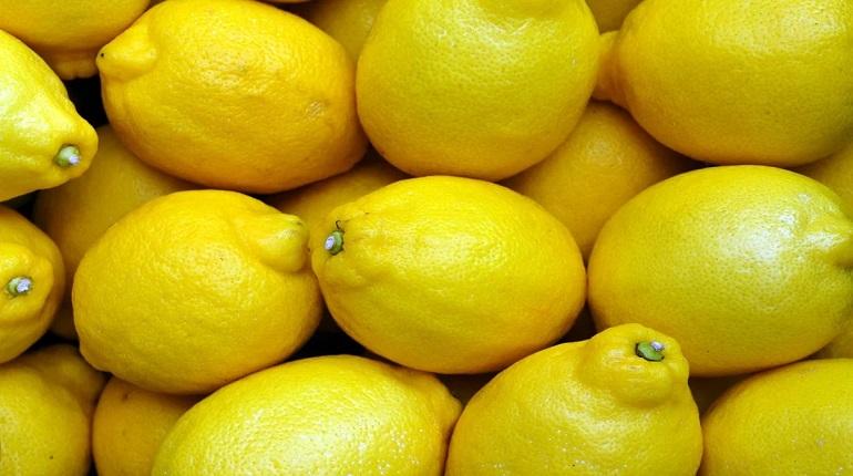 В 2020 году Петербург закупил 100 тыс тонн лимонов