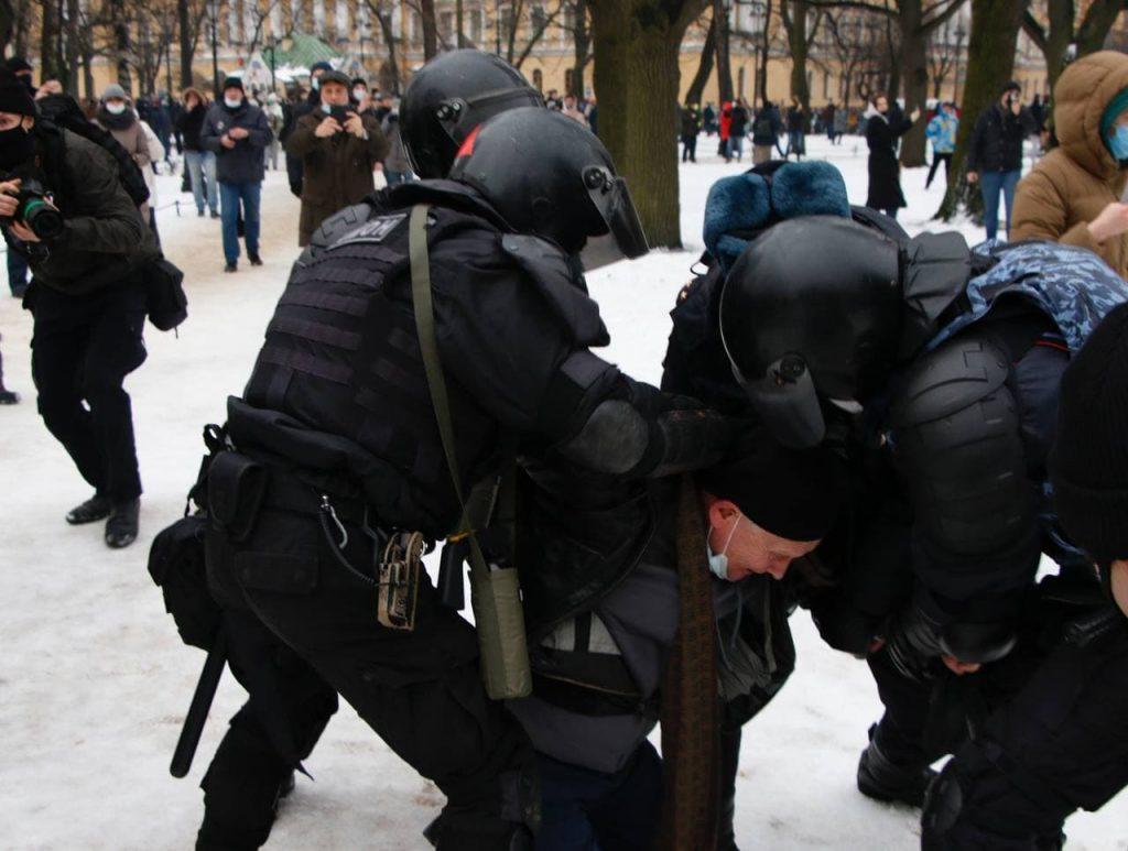 Митинг 23 января: что происходит в городах России