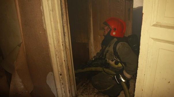 Женщина погибла в пожаре в квартире на Гранитной