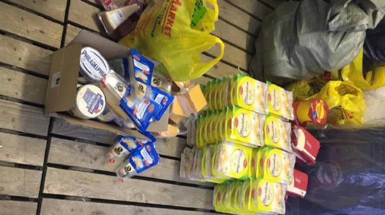 Выборгская таможня изъяла 300 кг запрещёнки – сыр, масло и колбасу