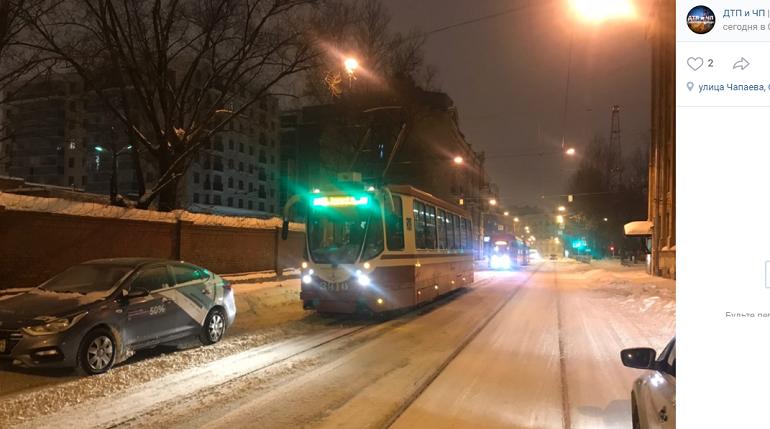 «Делимобиль» притормозил трамваи на Котовского