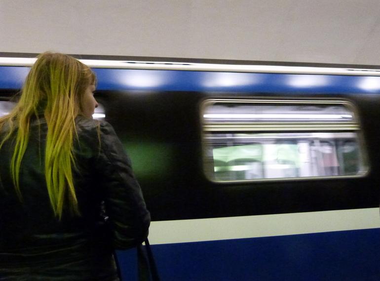 Движение на «синей» ветке ограничили из-за падения пассажира на рельсы