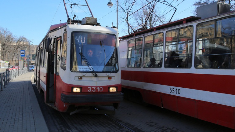 На набережной Карповки восстановили трамвайное движение