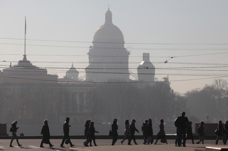 Воскресенье в Петербурге будет почти таким же теплым, как 6 лет назад