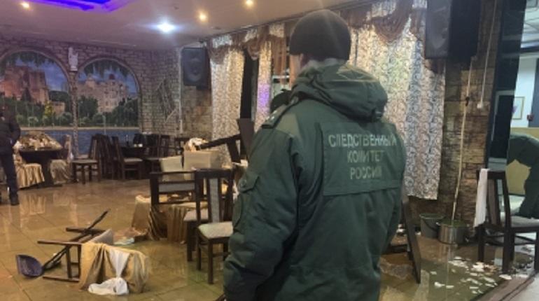 Мужчину убили во время перестрелки в кафе в Шлиссельбурге