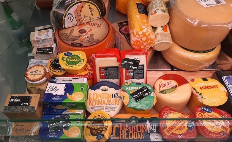 В Петербурге уничтожили более двух центнеров санкционного сыра и масла