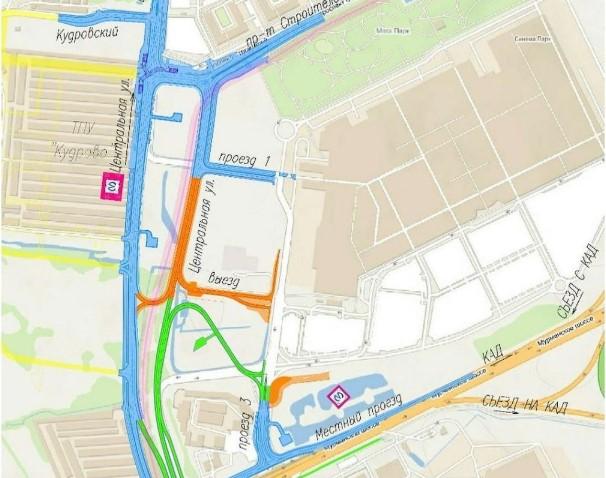 Проект развязки с Мурманским шоссе в Кудрово прошел экспертизу