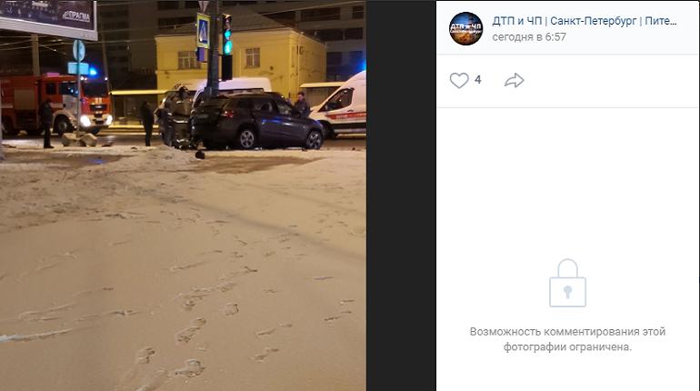 В пьяном ДТП с маршруткой на Ветеранов пострадали два человека