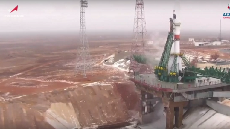 Ракета «Союз-2.1б» стартовала с космодрома Байконур