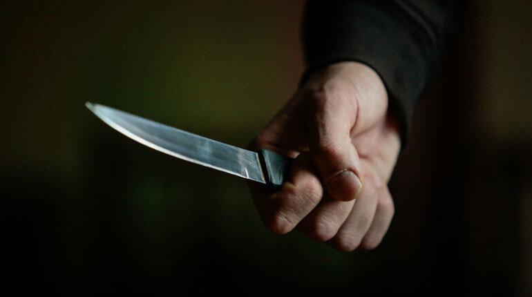 Жительницу Петергофа чуть не зарезал сожитель с криминальным прошлым