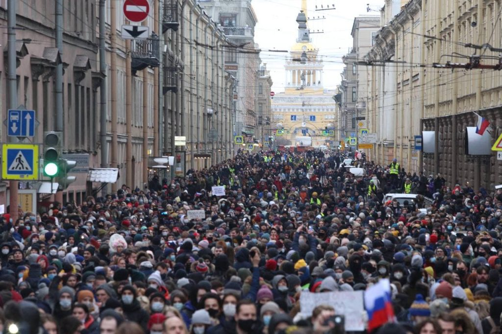 Суд отменил штраф глухому петербуржцу за участие в несогласованном митинге