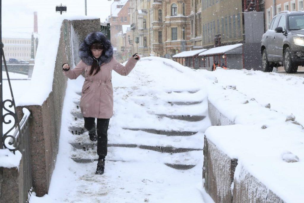 За минувшую ночь в Петербурге выпало более трети месячной нормы осадков