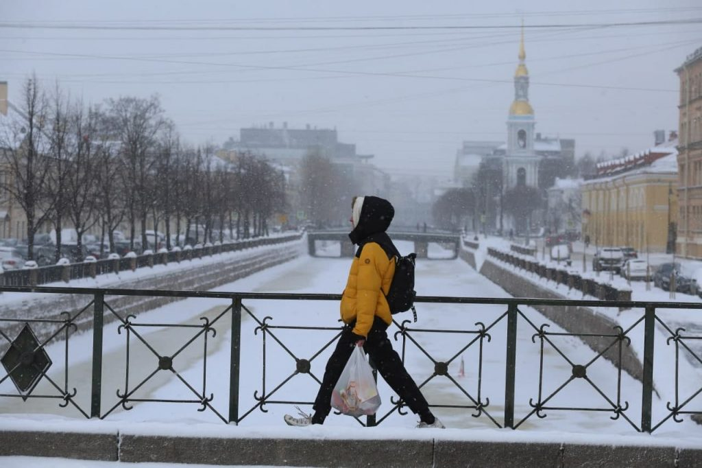В Петербурге похолодает до -3 градусов, полвека назад в городе трещал мороз