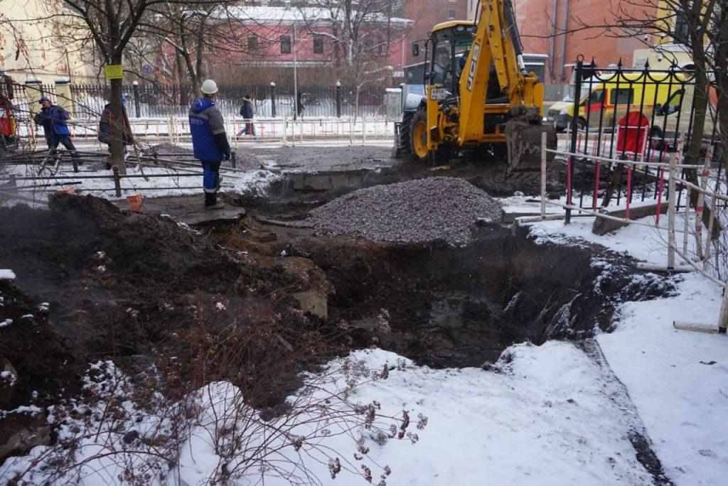 В детсад и два десятка жилых домов на 9-й Советской улице вернули отопление
