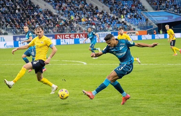 «Зенит» не смог переиграть «Ростов» в первом матче после возобновления чемпионата