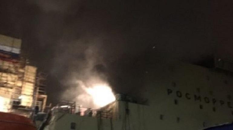Суд прекратил уголовное дело о взрыве на ледоколе «Виктор Черномырдин»