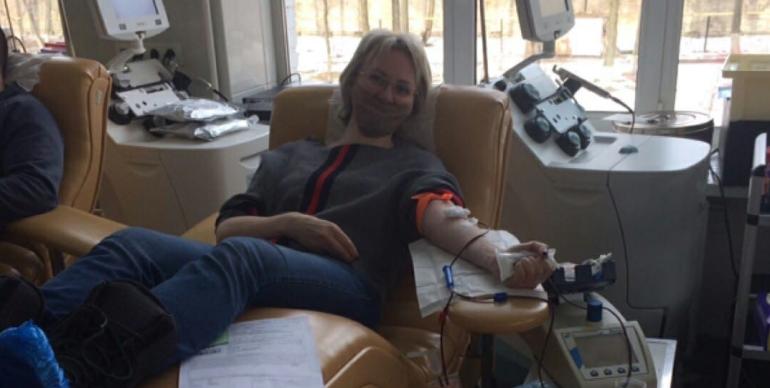 На субботней акции петербуржцы сдали 147 литров крови