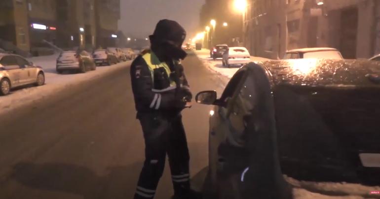 На выходных каждый десятый водитель в Петербурге оказался пьяным