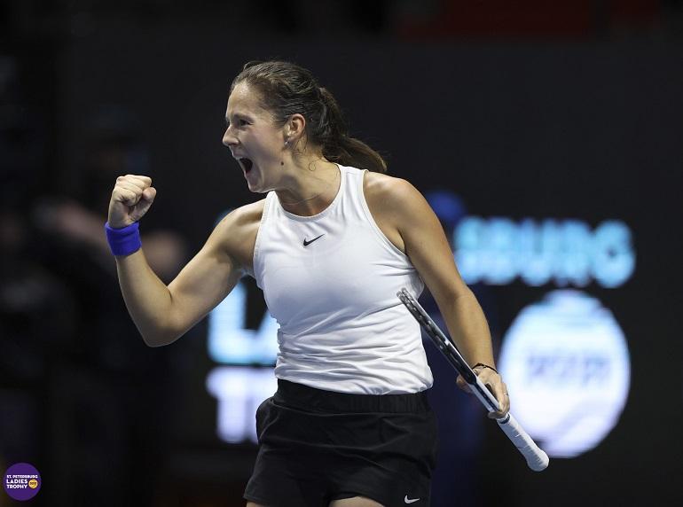 Дарья Касаткина выиграла теннисный турнир ST.Petetrsburg Ladies Trophy 2021