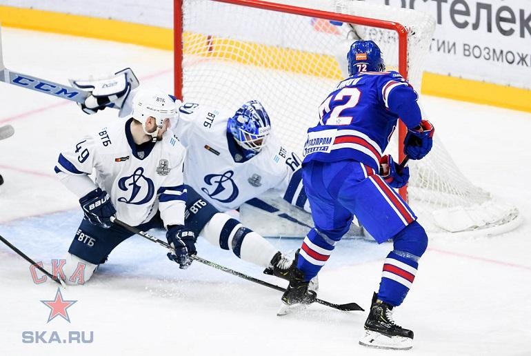 СКА одержал победу над «Динамо» и вышел в финал Западной конференции