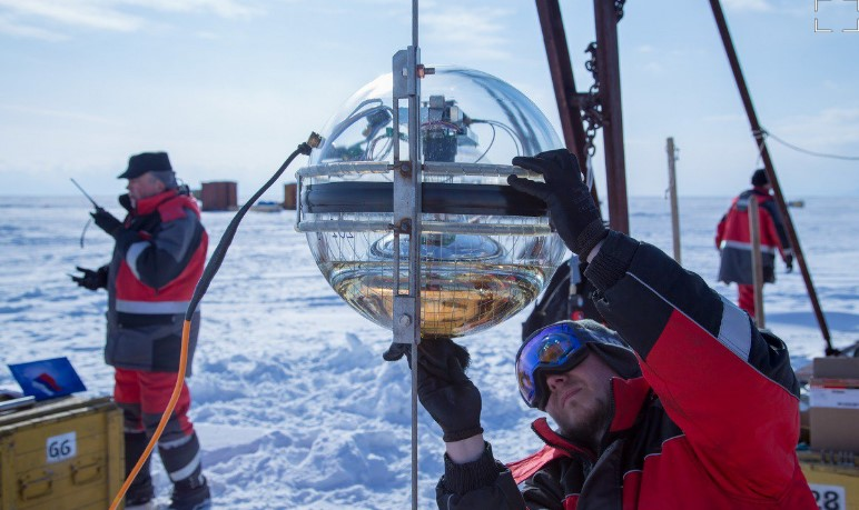 В России запустили самый крупный в Северном полушарии глубоководный телескоп