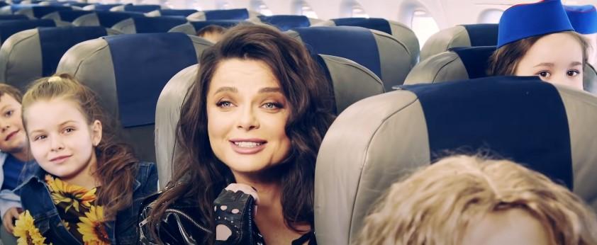 «ХИТрюшки» и Наташа Королёва впустили видеоролик в поддержку российской авиации