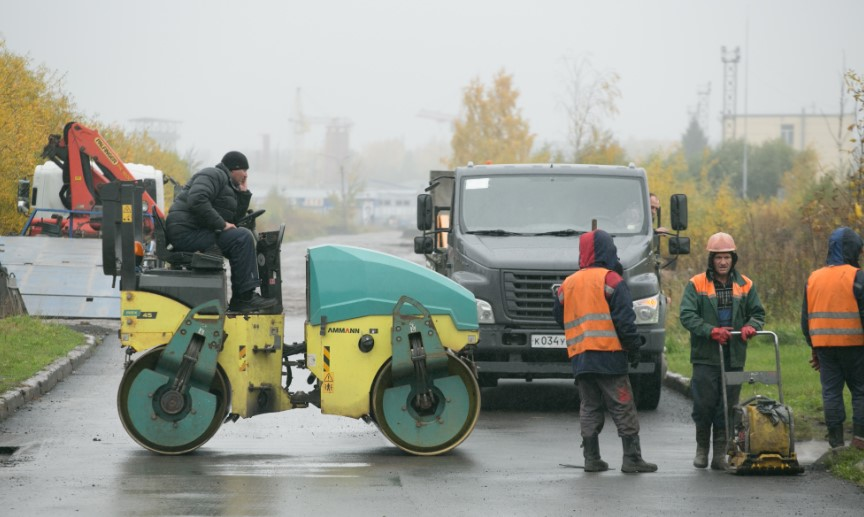 «Ленавтодор» отремонтирует участок дороги в Ломоносовском районе