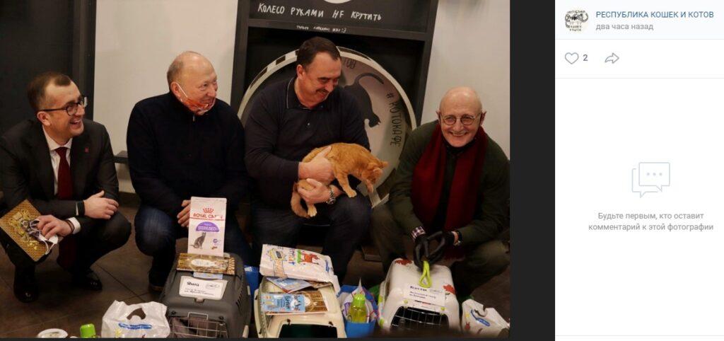 Трое «республиканских» котов получили должности в петербургских театрах