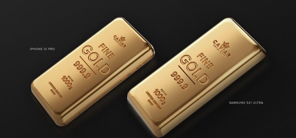 Российская компания выпустила два смартфона из чистого золота