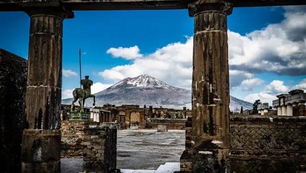 Вулкан в Помпеях унес жизни тысяч людей всего за 15 минут