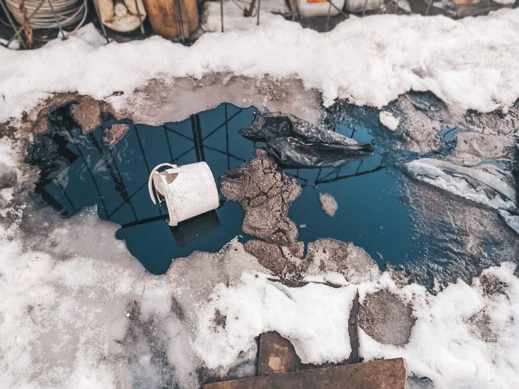 В Калининском районе Петербурга ликвидирован пролив нефтепродуктов