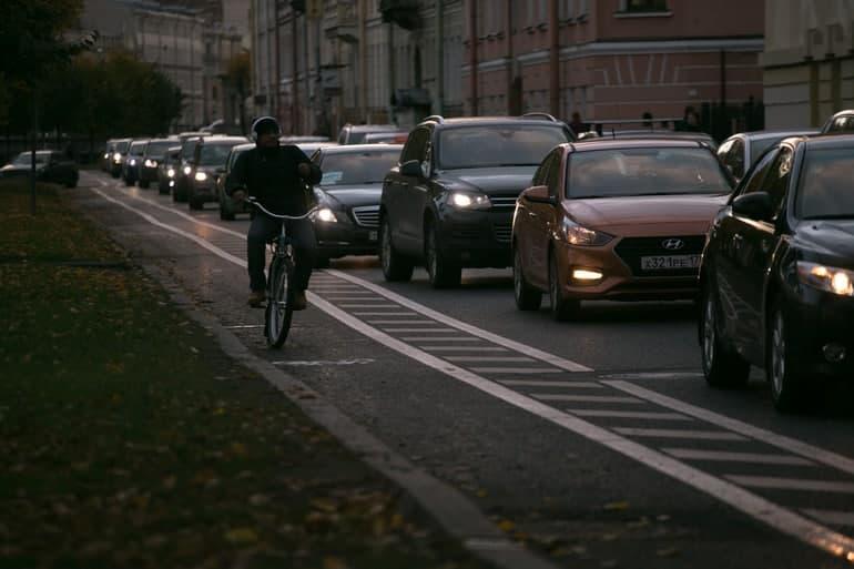 Депутаты поругались из-за велодорожек и решили не вносить их в генплан Петербурга