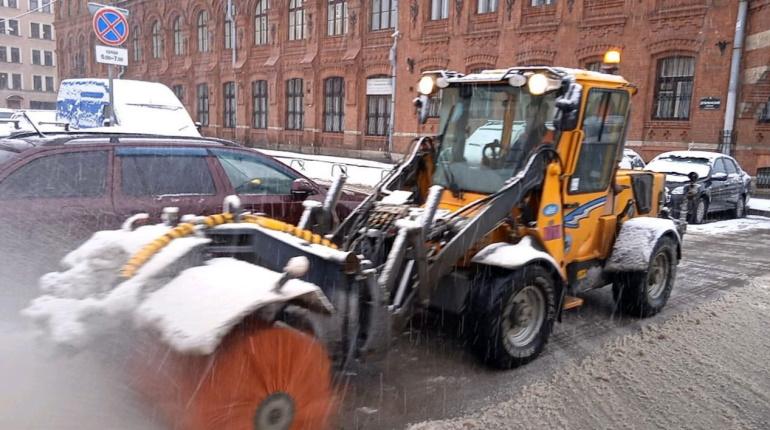 В Петербурге за ночь выпало больше 4 сантиметров апрельского снега