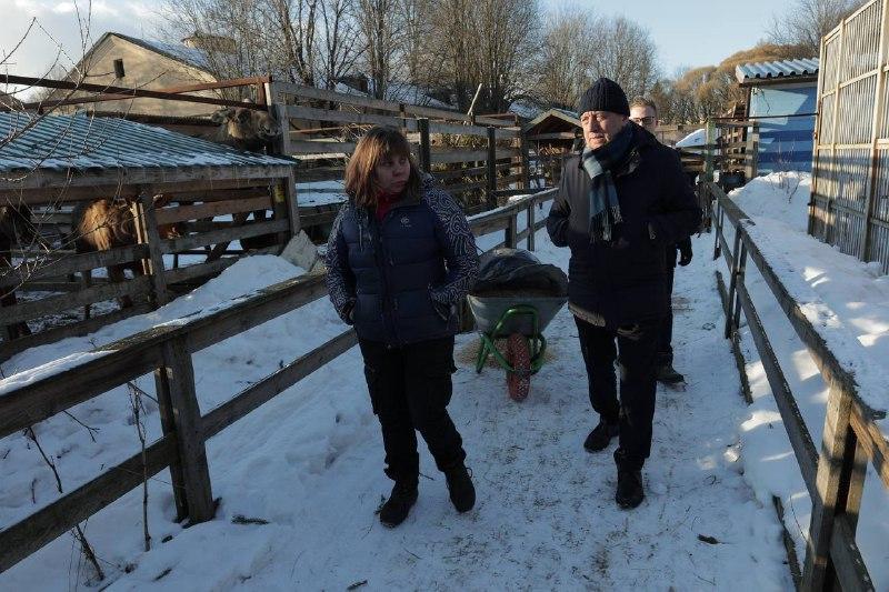 Центр диких животных «Велес» получил гуманитарную помощь от волонтёров