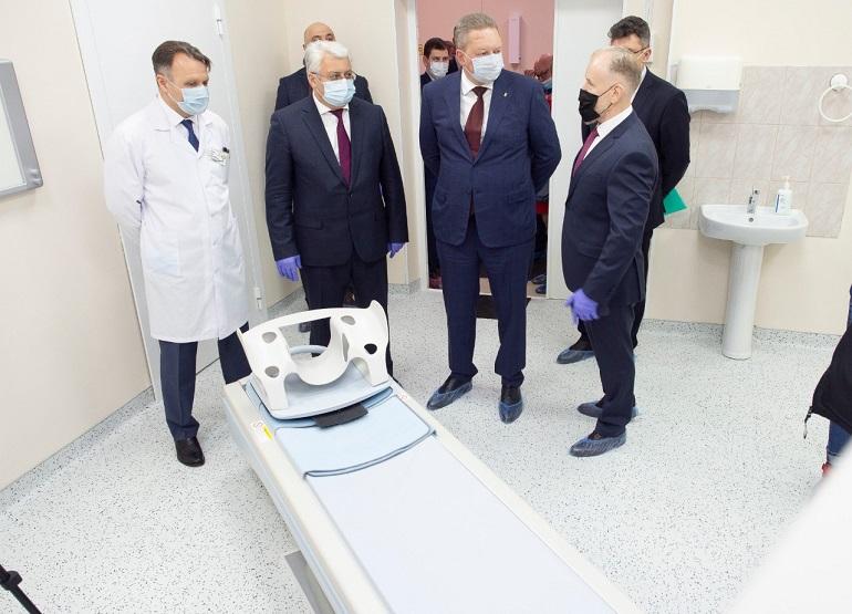 В городской больнице Кронштадта запущен новый компьютерный томограф