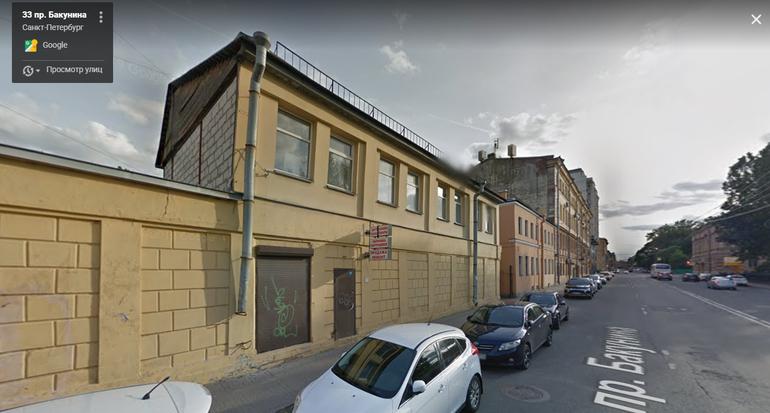 Петербуржцы добились от суда остановки сноса исторического здания на Бакунина