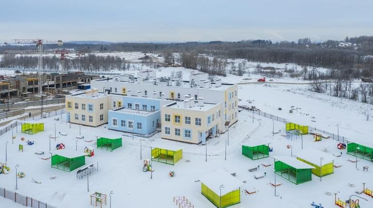 Новый детский сад ввели в эксплуатацию в Московском районе