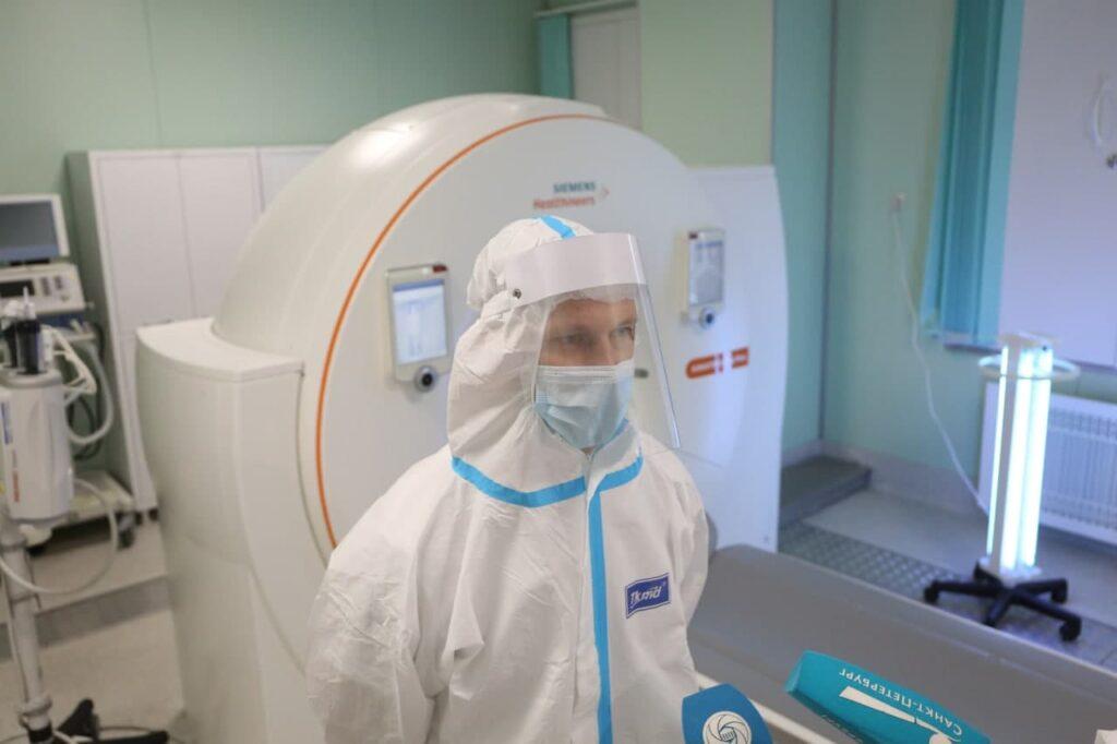 В России выявили рекордно низкое с конца сентября число заболевших COVID-19