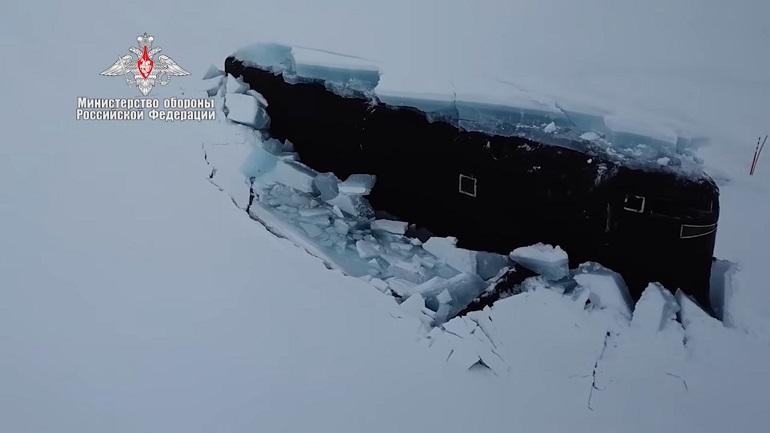 Три российских подлодки всплыли в Арктике в рамках экспедиции «Умка-2021»