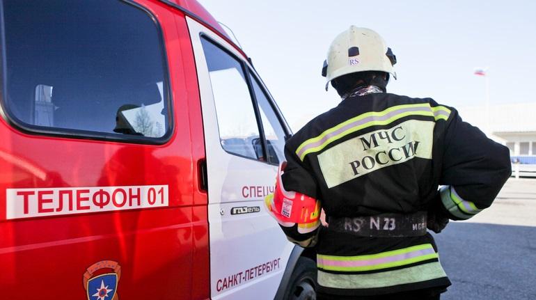 Спасатели потушили пожар в двухкомнатной квартире в Ломоносове