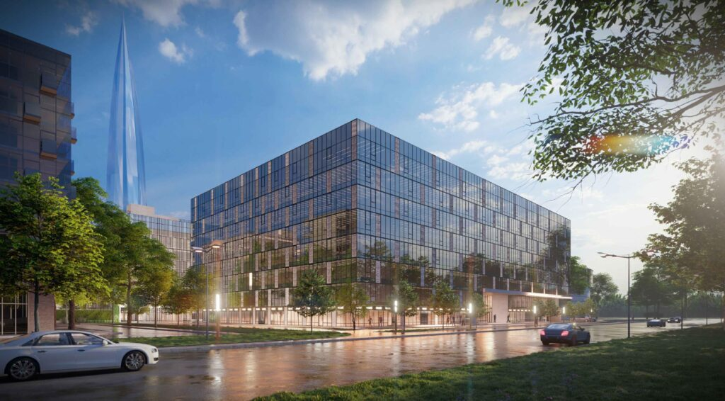На Приморском проспекте возведут гостинцу и бизнес-центр с видом на Невскую губу