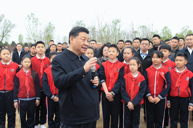 Си Цзиньпин подчеркнул необходимость гармоничного сосуществования человека и природы