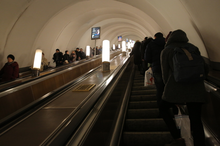 Станция «Садовая» заработала на вход