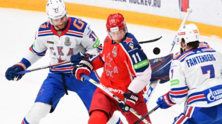 СКА проиграл и во втором матче финальной серии с ЦСКА