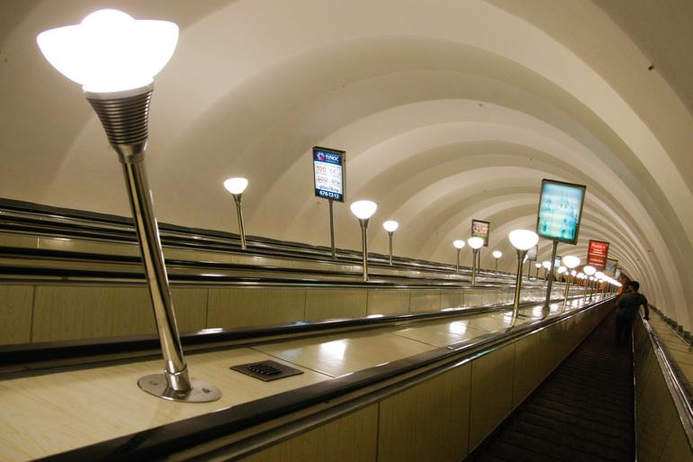 Станция метро «Московская» работает в обычном режиме