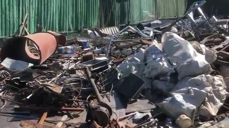 Полиция закрыла четыре пункта приема металлолома, работающие без лицензии