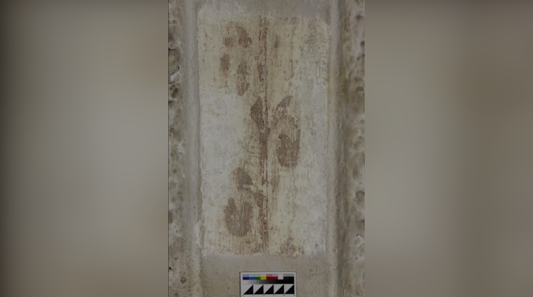 В кирхе Приморска нашли фрески, считавшиеся утраченными